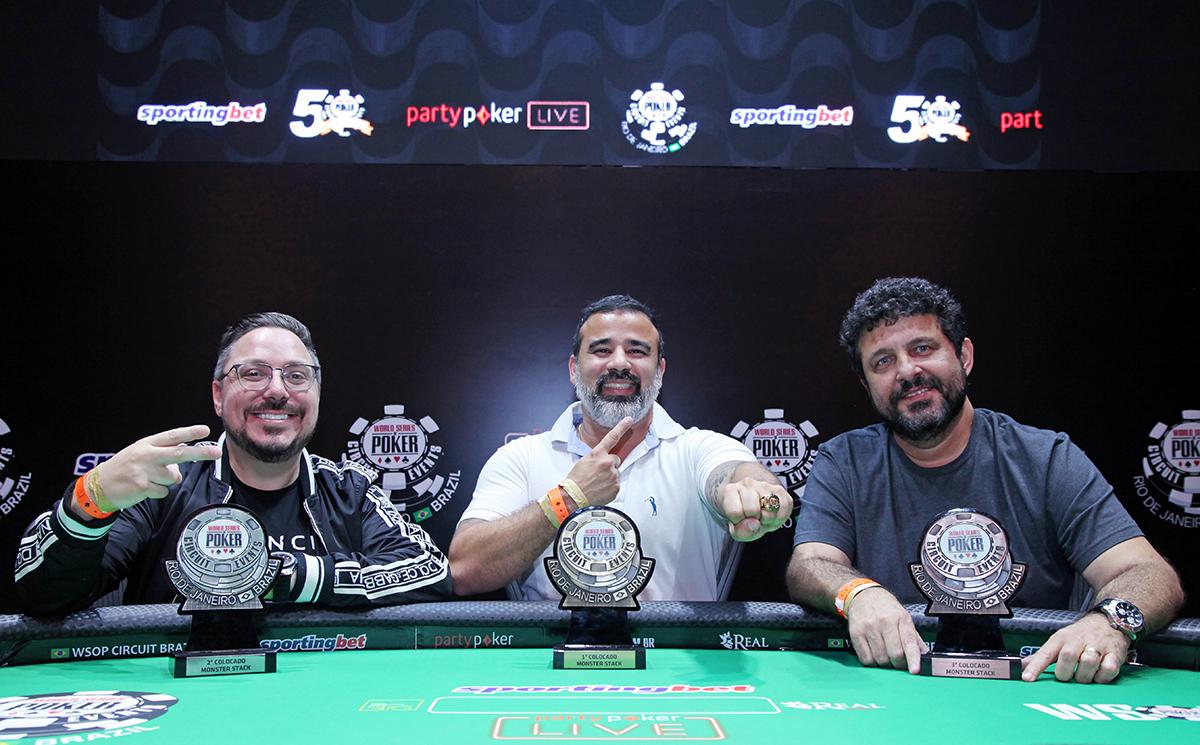 Finalistas Monster Stack - WSOP Brazil