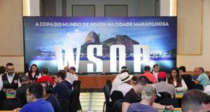 Letreiro WSOP Brazil