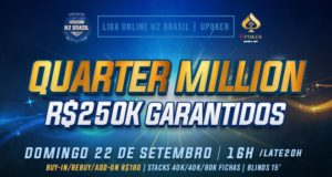 Quarter Million da Liga Online H2 Brasil