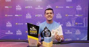 Rafael Silva campeão do High Roller do NPS Recife
