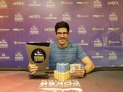 Vitor Amora campeão do 6-handed Knockout do NPS Recife