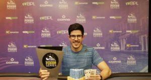 Vitor Amora campeão do 6-handed Knockout do NPS Recife