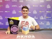 Guilherme Barros campeão do Pot-Limit Omaha 6-handed Knockout