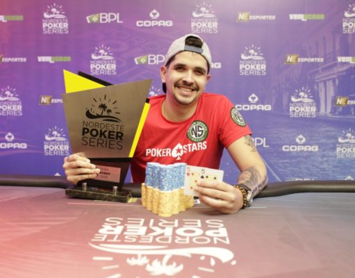 Pedro Henrique Mendes é campeão do Main Event do NPS Recife
