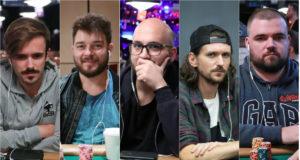 Yuri Martins, Fabiano Kovalski, Diego Bittar, João Mathias e Pedro Padilha