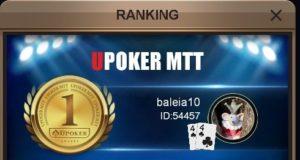 """""""baleia10"""" campeão do Super High Roller da Liga Online H2 Brasil"""
