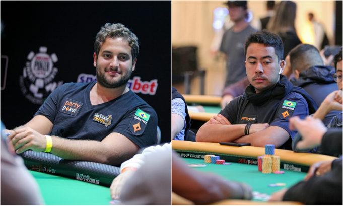 João Simão e Renato Nomura - WSOP Brazil