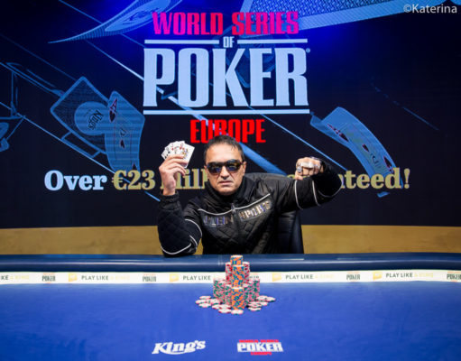 Besim Hot campeão do Evento #10 da WSOP Europa