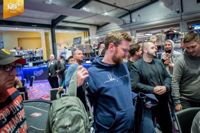 Nicolas Sievers bolha do Main Event da WSOP Europa