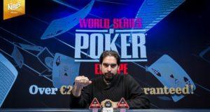 Alexandros Kolonias campeão do Main Event da WSOP Europa
