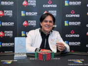 Luiz Miranda campeão do 6-handed Knockout do BSOP Gramado