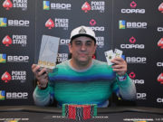 Marcelo Mesqueu campeão do 6-handed do BSOP Gramado