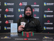 Diogo Nadai campeão do Big Pot do BSOP Gramado