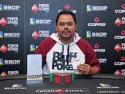 Aberivaldo Leite campeão do PLO Dealers Choice do BSOP Gramado