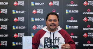 Aberivaldo Leite campeão do Pot-Limit Omaha Knockout do BSOP Gramado