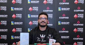 João Bauer campeão do Start-Up do BSOP Gramado