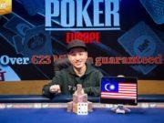 Chin Wei Lim campeão do Evento #12 da WSOP Europa