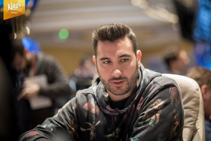 Dario Sammartino - WSOP Europa (Foto: King's Casino)
