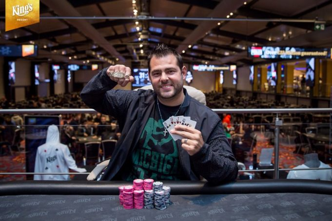 Dash Dudley campeão do Evento #2 da WSOP Europa
