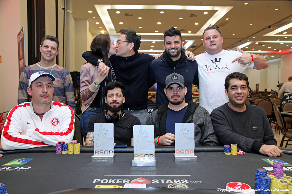 Mesa final do Turbo Knockout do BSOP Gramado