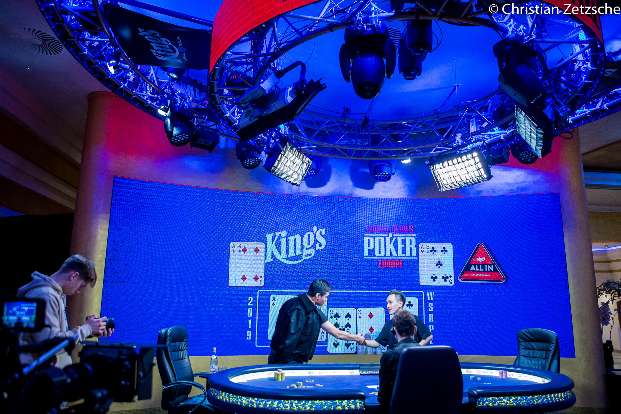 Heads-Up do Super High Roller da WSOP Europa