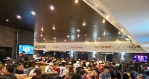 Salão do H2 Club Goiâna