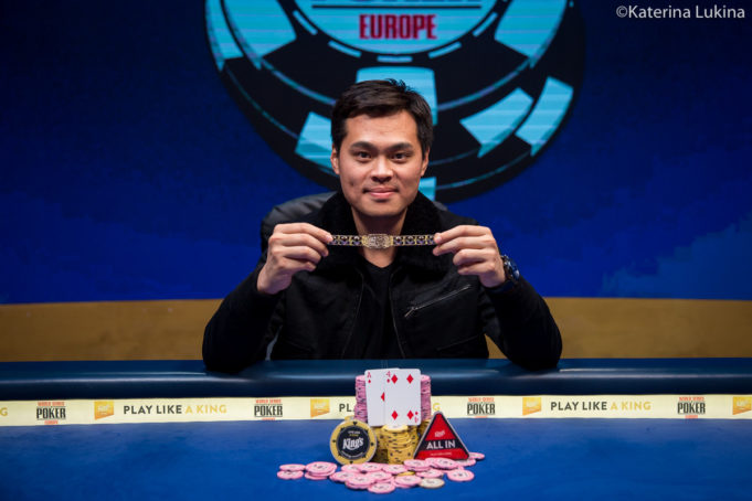 James Chen campeão do Super High Roller da WSOP Europa