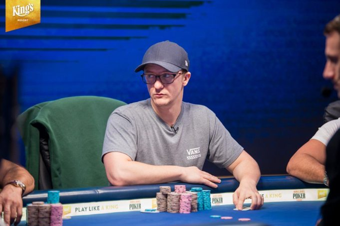 Kahle Burns - WSOP Europa (Foto: Kings Casino)