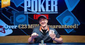 Kahle Burns campeão do Evento #13 da WSOP Europa