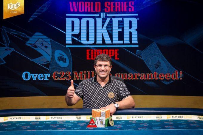 Leon Tsoukernik campeão do € 100.000 Short Deck do King's Casino