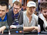 Mikita Badziakouski, Christoph Vogelsang, Alex Foxen e Dominik Nitsche