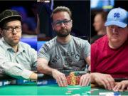 Robert Campbell, Daniel Negreanu e Shaun Deeb