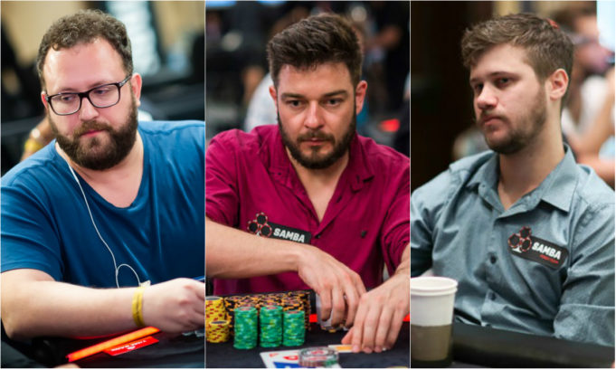 Rodrigo Semeghini, Fabiano Kovalski e Kelvin Kerber