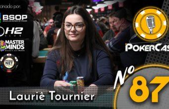Lauriê Tournier - Pokercast 87