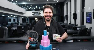 Guilherme Chenaud campeão do Main Event Light do CPH