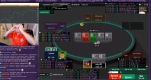 Streamer Royal Flush - Rene Exploitpoker