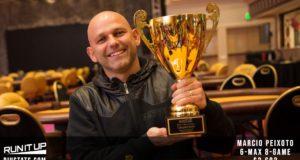 Marcio Peixoto - Campeão 8-Game Run it Up Reno