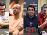 Caio Hey, Alexandre Mantovani, Felipe Brasil e Douglas Ferreira