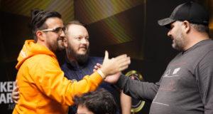 André Akkari bolha do Super High Roller do BSOP Millions
