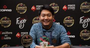 Luis Kamei campeão do SuperFlop do BSOP Millions
