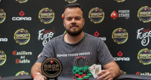 Thiago Franco campeão do Start Up do BSOP Millions