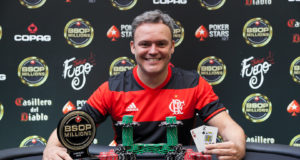 Wallacy Rossani campeão do Heads-Up do BSOP Millions