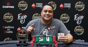 Rafael Moreira campeão do Turbo Knockout do BSOP Millions