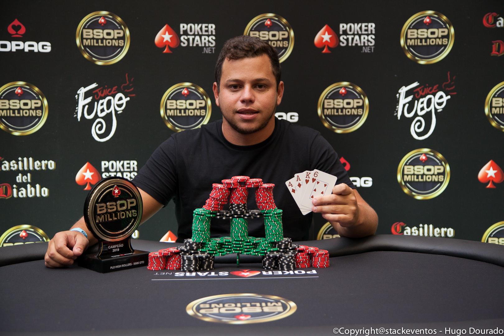 Paulo Rodrigues - Campeão PLO High Rollers - BSOP Millions
