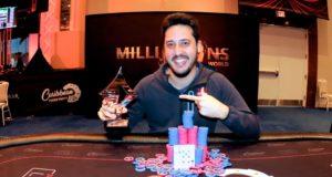 Adrian Mateos campeão do Super High Roller do Caribbean Poker Party