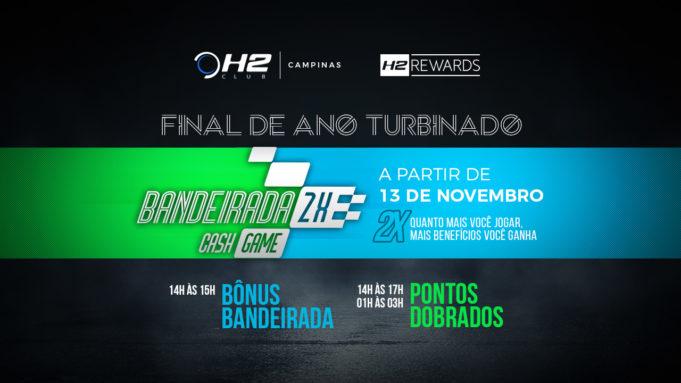 Bandeirada 2x - H2 Club Campinas