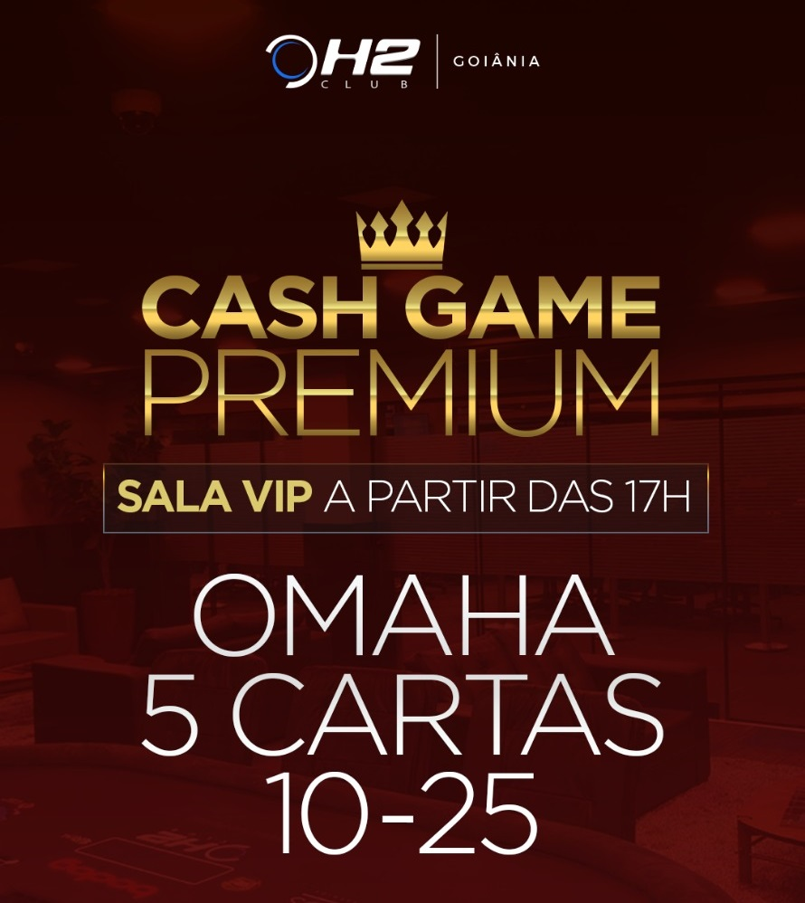 Cash Game H2 Club Goiânia