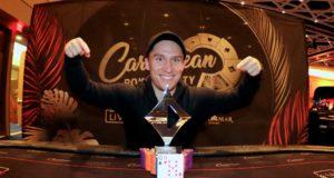 Daniel Dvoress campeão do Short Deck do Caribbean Poker Party