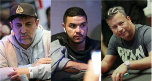Marcelo Mesqueu, Pablo Menezes e Rogério Siqueira