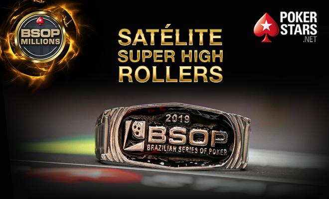 Satélite para o Super High Roller do BSOP Millions